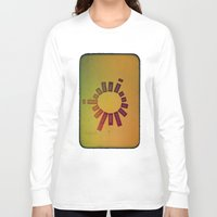 poem Long Sleeve T-shirts featuring Infinite Words Poem  by Brycical