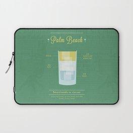 Palm Beach - Cocktail by Juan Laptop Sleeve