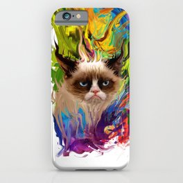 grumpys rich inner world iPhone Case