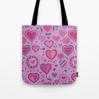 novelty Tote Bags featuring Novelty by Aron Gelineau