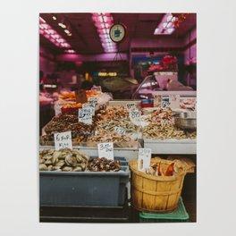 Chinatown Shellfish Poster