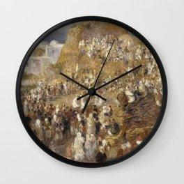 Renoir - The Mosque,1881 Wall Clock