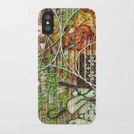 Crimson Petal's Lying Decay iPhone Case