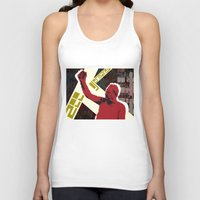 snatch Tank Tops featuring zee germans  by Andra Vlasceanu