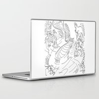 lab Laptop & iPad Skins featuring Futuristic lab by Lazaros