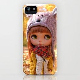 Honey - Autumn nature iPhone Case