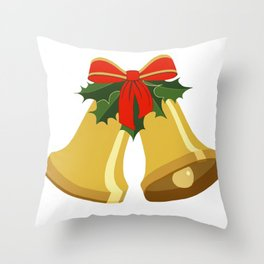 Bells are Ringing Throw Pillow