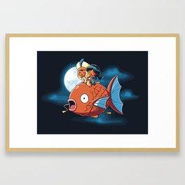 A special Crossover Framed Art Print