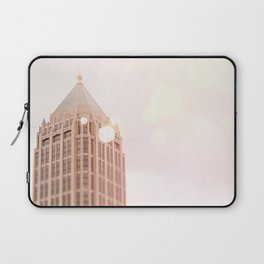Building and Pink Bokeh Laptop Sleeve