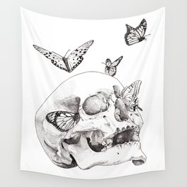 Anxiety Print Wall Tapestry