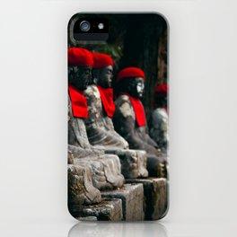Nikko Jizo Statues iPhone Case