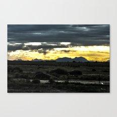 Cometh Canvas Print