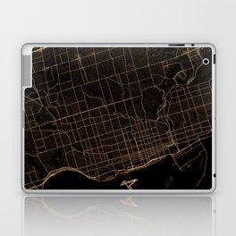 Toronto map, Canada Laptop & iPad Skin