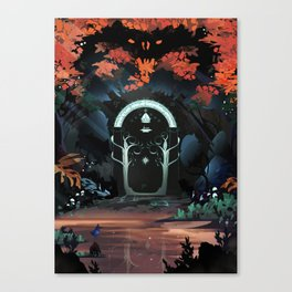 The Doors of Durin Canvas Print