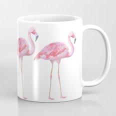 Flamingo - bird - animal on white backround Mug