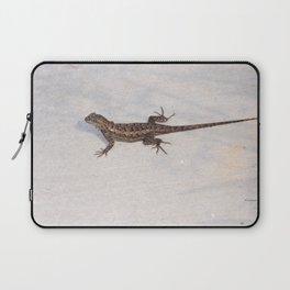 Heat-Loving Lizard Laptop Sleeve
