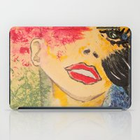 make up iPad Cases featuring make up by BNK Design