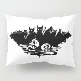 The cats of Ulthar Pillow Sham