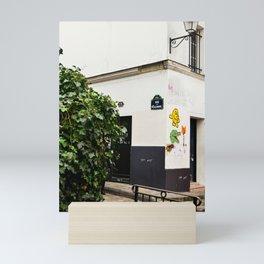 Alleyways of Paris Mini Art Print