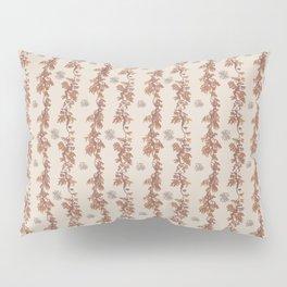Secret Dancers in Malaga ( leafy sea dragon in coral and cream ) Pillow Sham