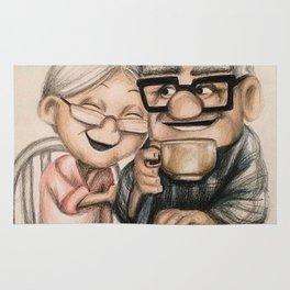 carl and ellie Rug