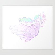 Unigirl Art Print