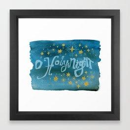 O Holy Night Framed Art Print