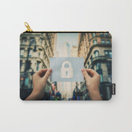 holding lock symbol Carry-All Pouch