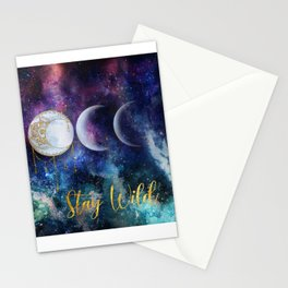 Celestial Ocean Moon Phases | Stay Wild Stationery Cards