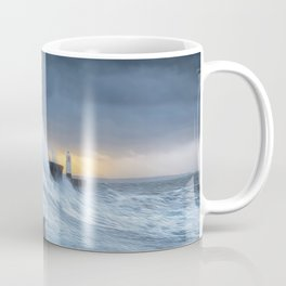 Hurricane Brian with oil painting effect Coffee Mug