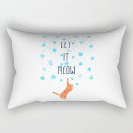 Let it Meow Rectangular Pillow