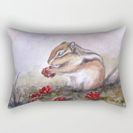 Chipmunk Rectangular Pillow