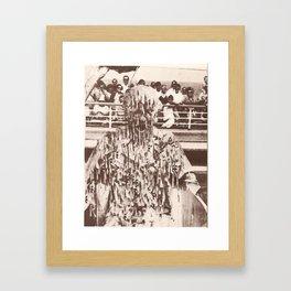 'jesus was just like me' -Print Framed Art Print