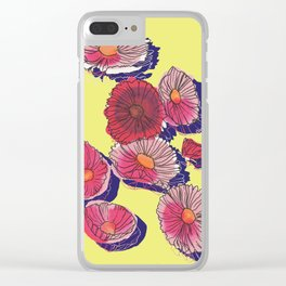 'Cosmos'politan / Flowers in sunlight Clear iPhone Case