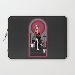 Mistress of The Dark Laptop Sleeve