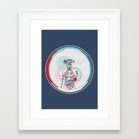anatomy Framed Art Prints featuring Anatomy by infloence