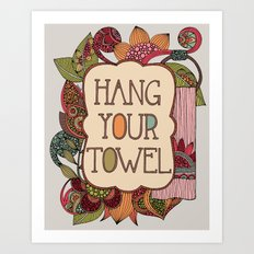Hang your Towel Art Print