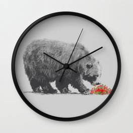 Cannibalism Wall Clock