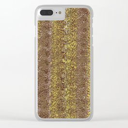 Golden Bown Clear iPhone Case