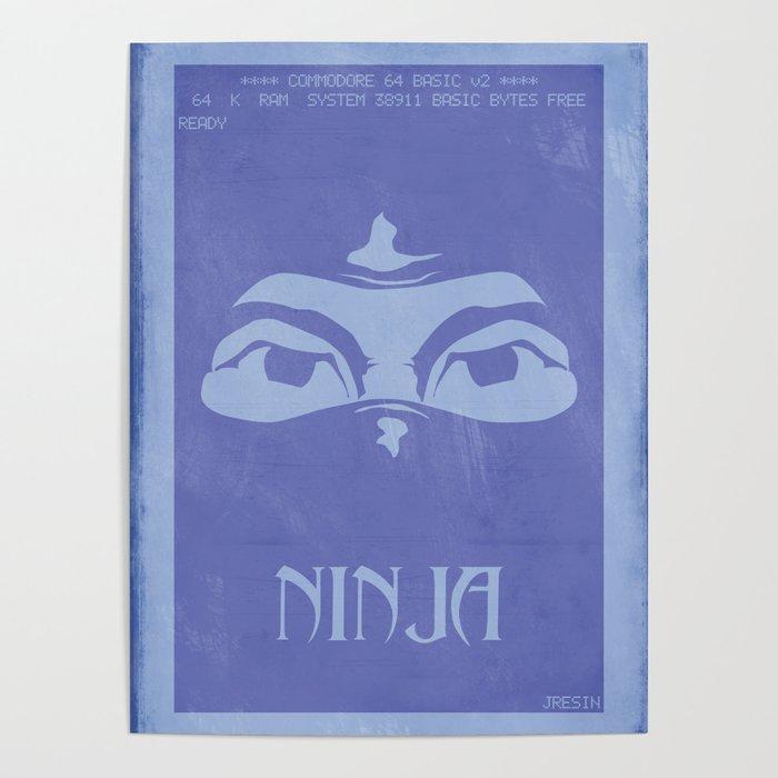 Retrogameing - Last Ninja Poster
