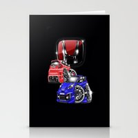honda Stationery Cards featuring Honda world  by Xr1s