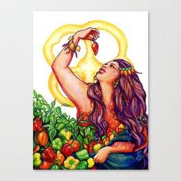 Pimienta Canvas Print