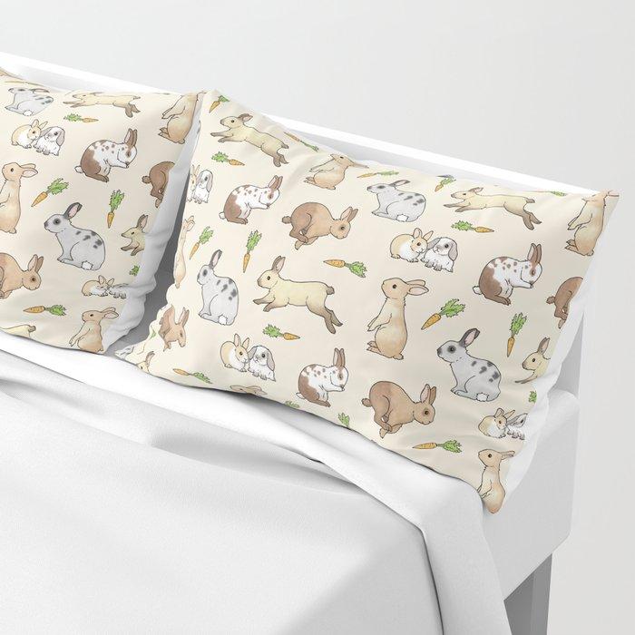 Rabbits Pillow Sham