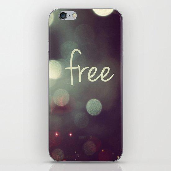 free II iPhone & iPod Skin