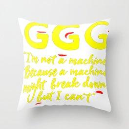 GGG Throw Pillow