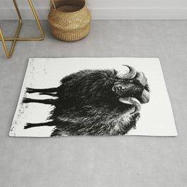 Black Ram Rug