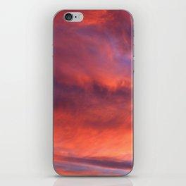 City sunset iPhone Skin