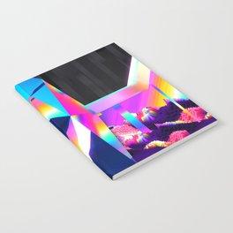 retro crystal Notebook
