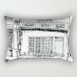Rue Galande Rectangular Pillow
