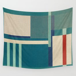 Container Stacking 2 Wall Tapestry